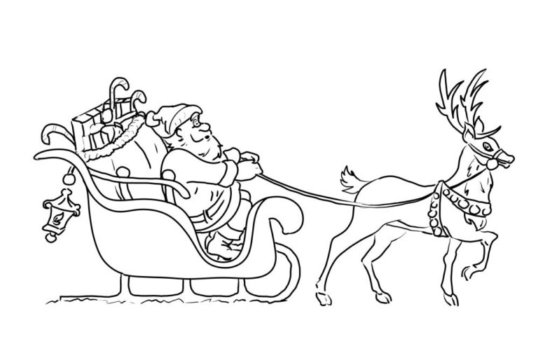 ausmalbilder weihnachtsmann  nikolausabend